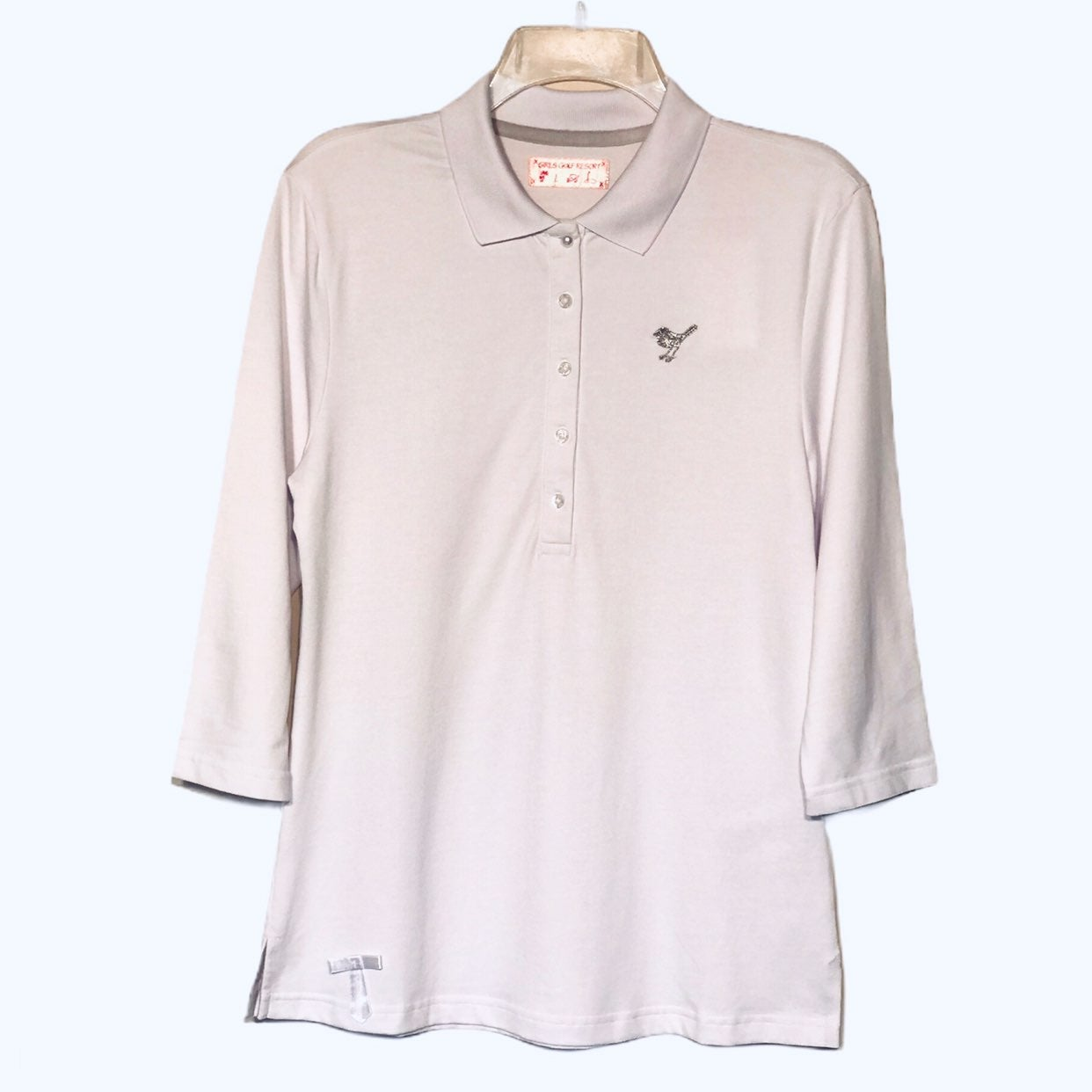 Girls Golf White Classic Golf Top