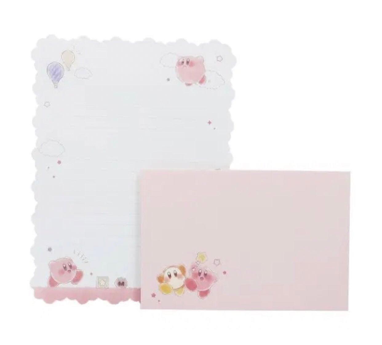 Kirby letter set