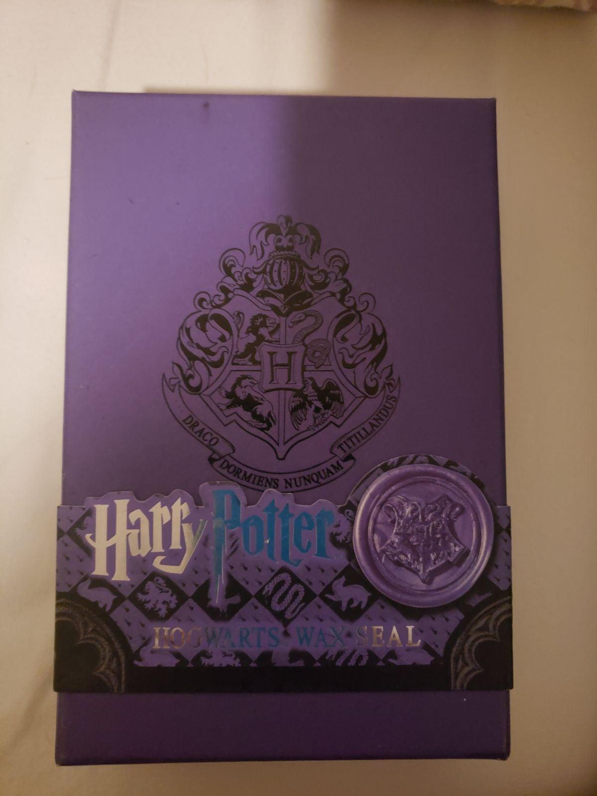 Harry potter Hogwarts wax seal