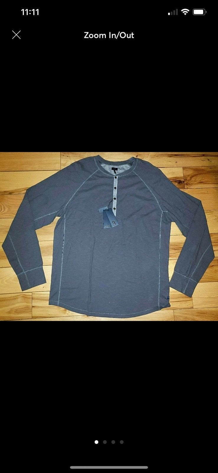 NWT Good Man Brand L/S Shirt Size XXL