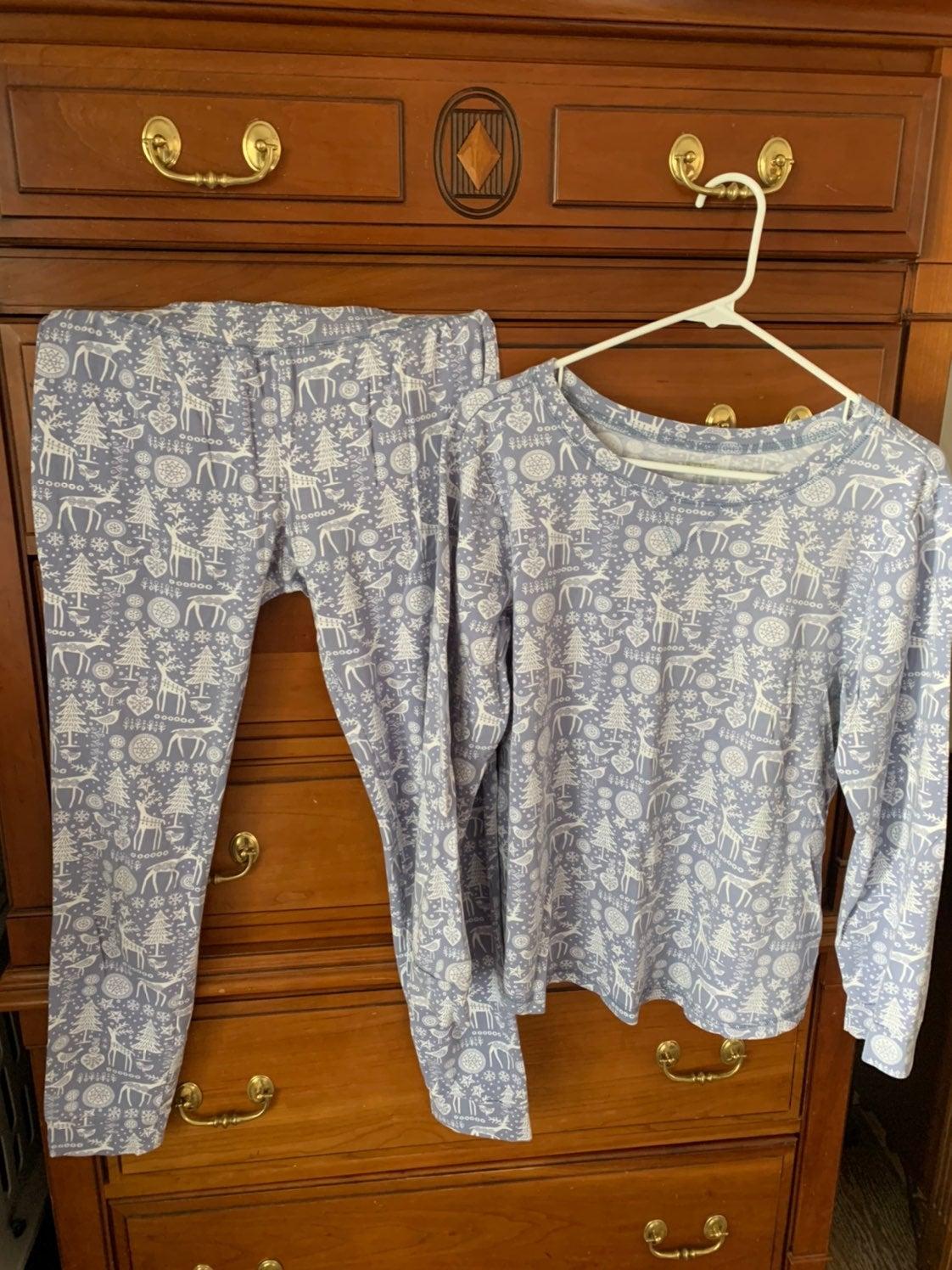 Garnet Hill Long John Pajamas