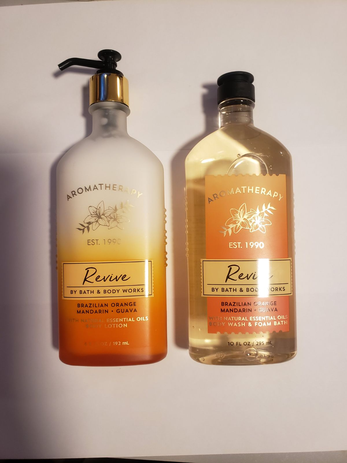Bath and Body Works Aromatherapy Revive