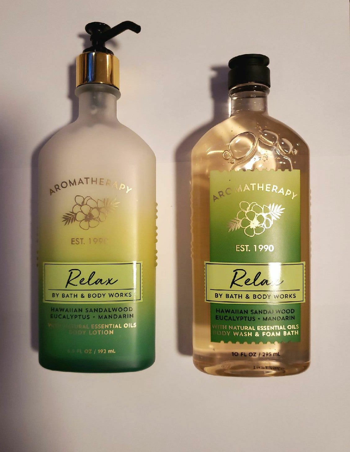 Bath and Body Works Aromatherapy Relax