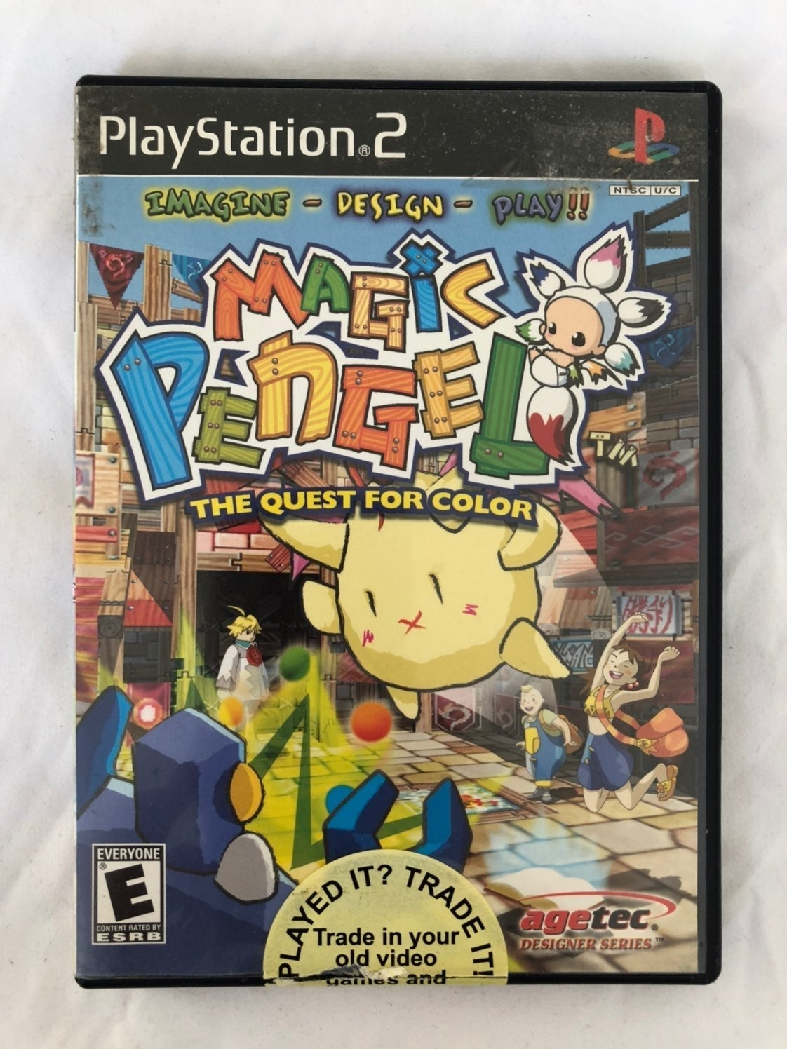 Magic Pengel The Quest for Color PS2