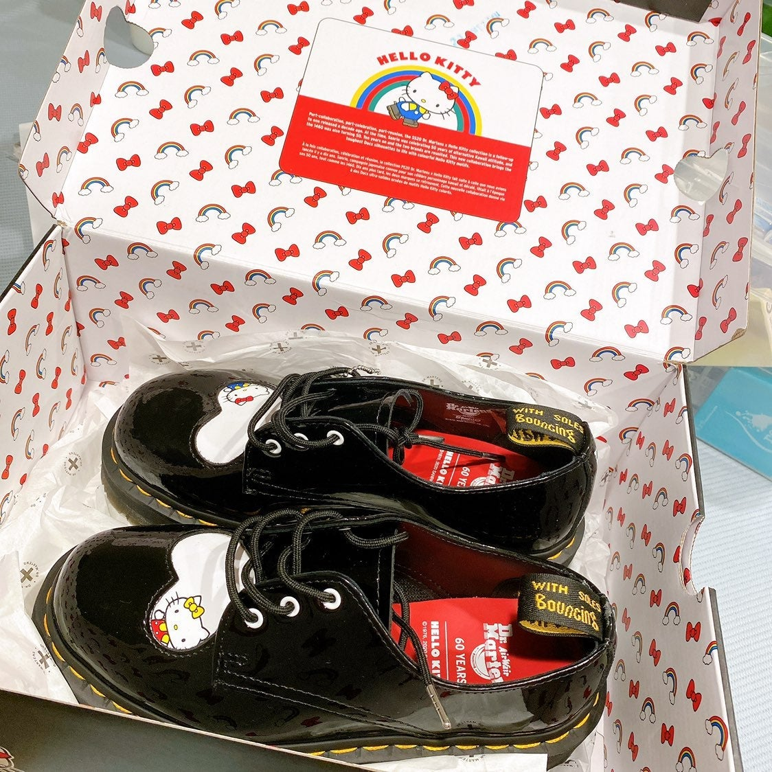 Dr. Martens 60 Years Hello Kitty Limited