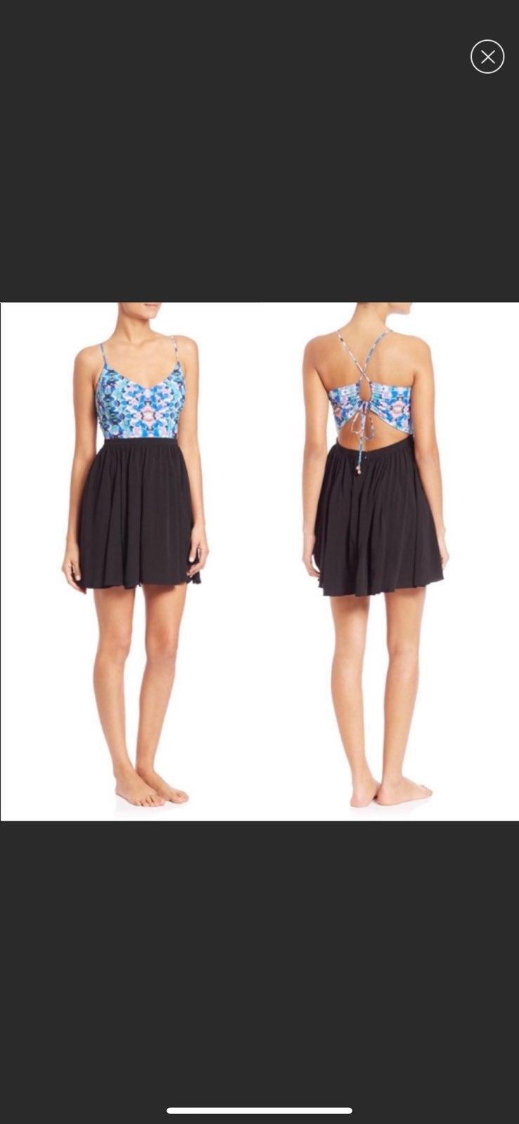 6 shore road pacific floral beach dress