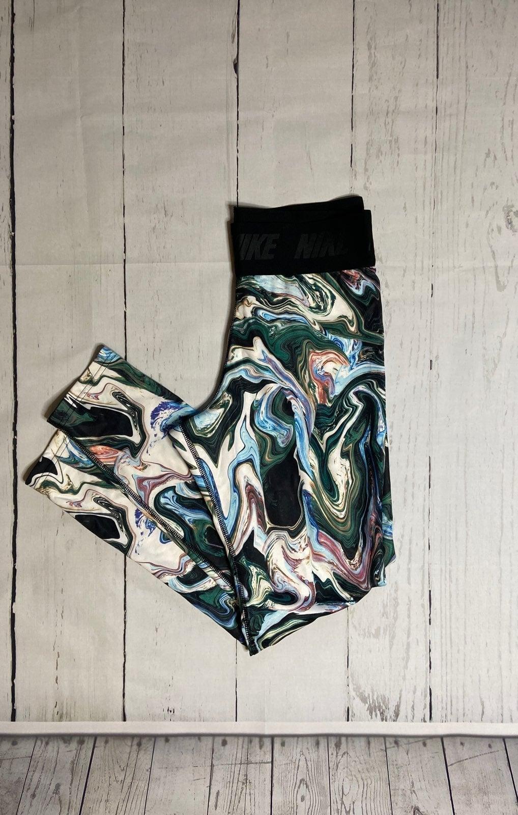 NIKE Marbled Workout Pants // Yoga Pants