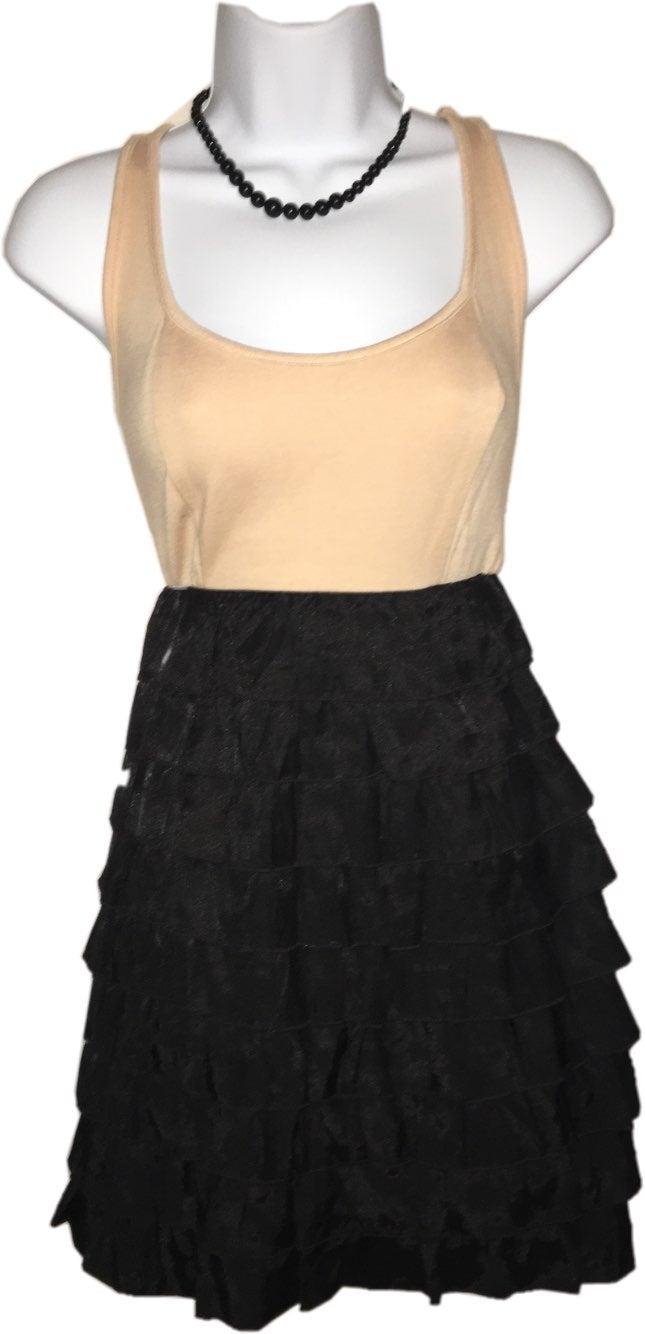 NEW FOREVER 21 Ruffled Skirt Dress