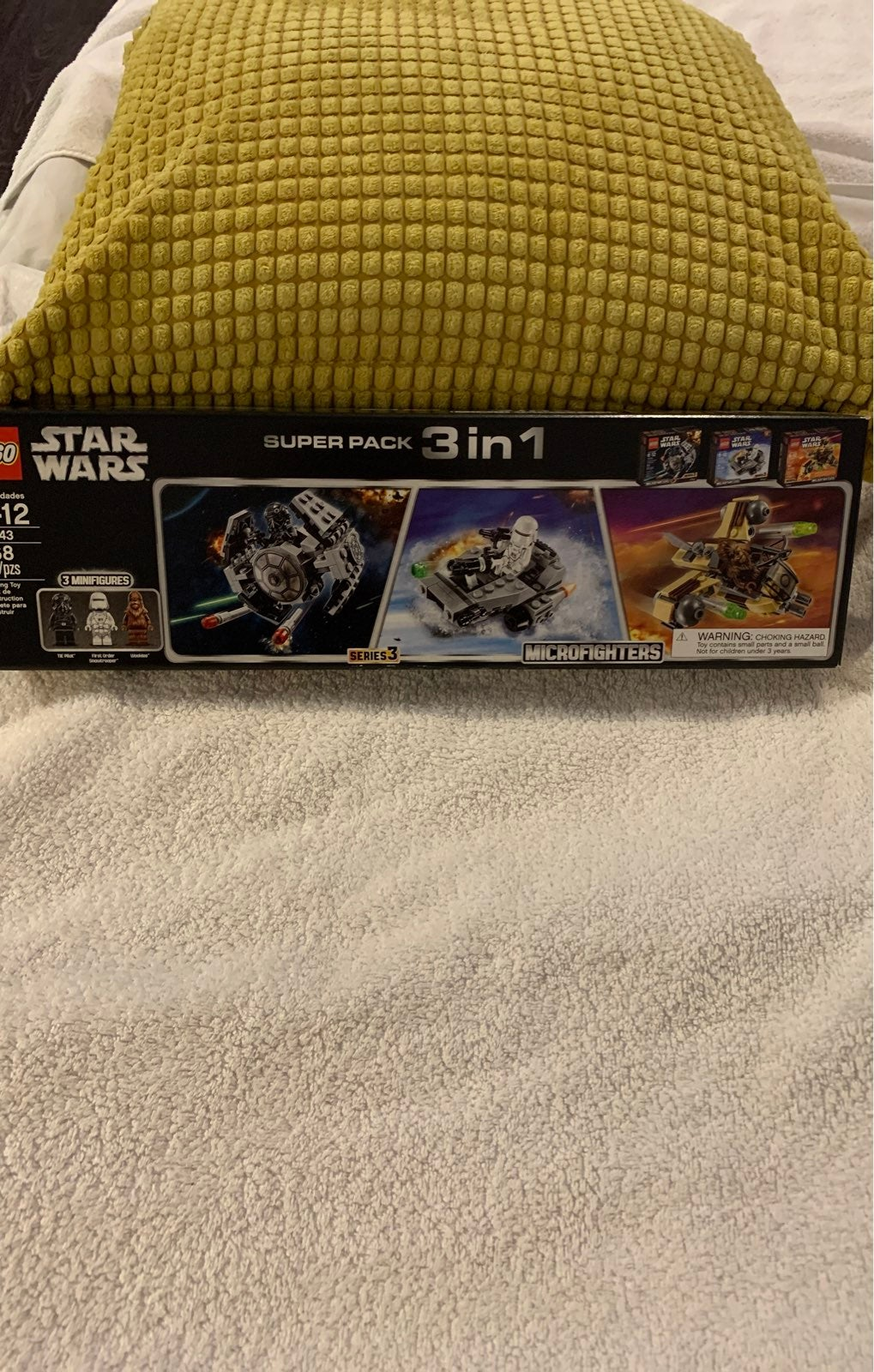 LEGO Star Wars 66543 Microfighter 3 in 1