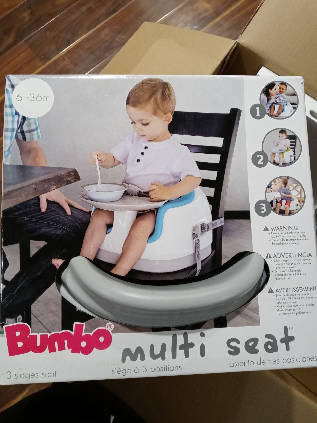 NEW Bumbo 3-in-1 multi seat tray