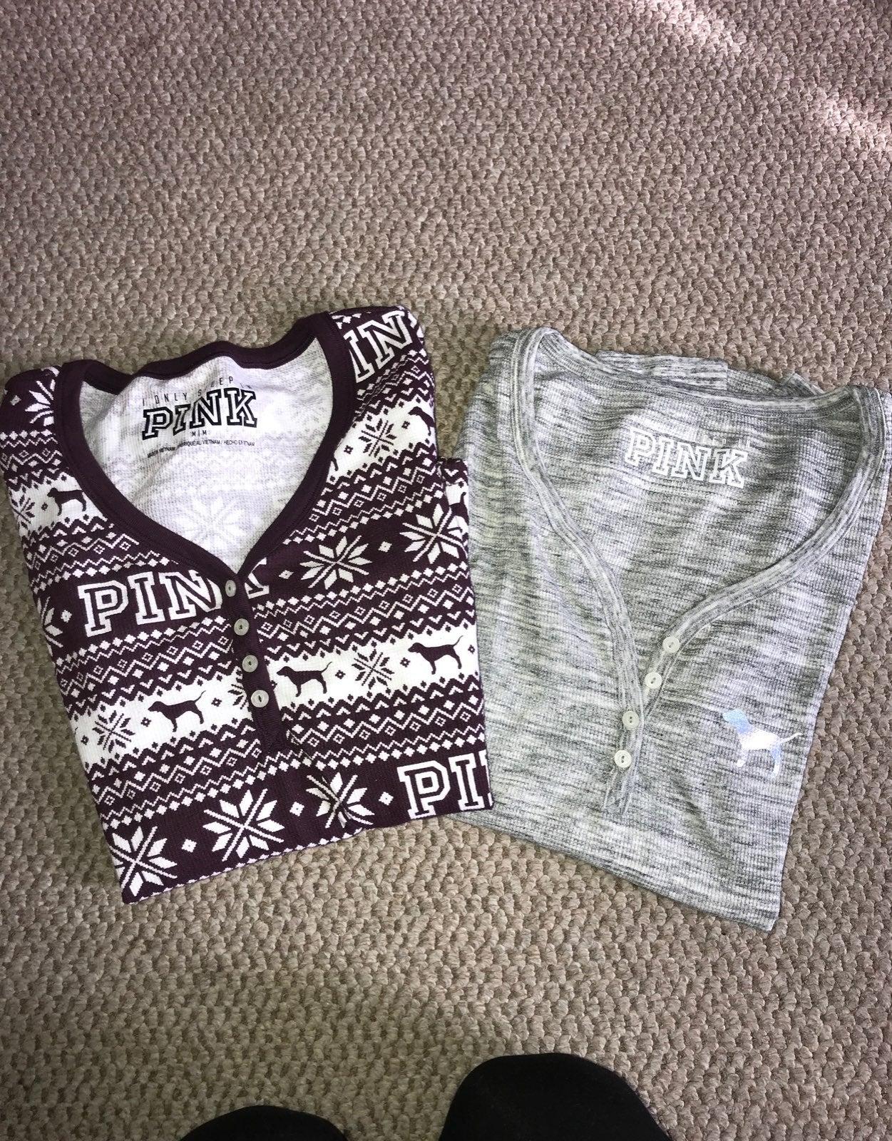 PINK thermal shirts