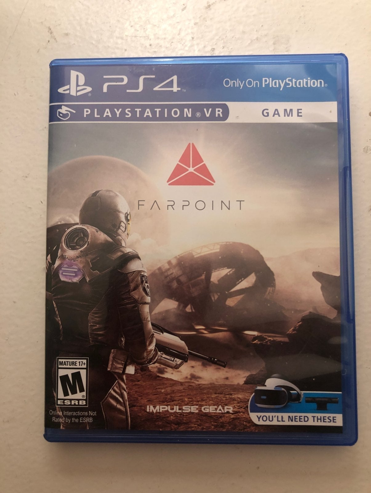 """PS4 """"FARPOINT"""" VR GAME"""