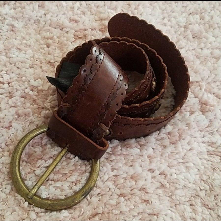 Massimo Dutti Leather women's Belt