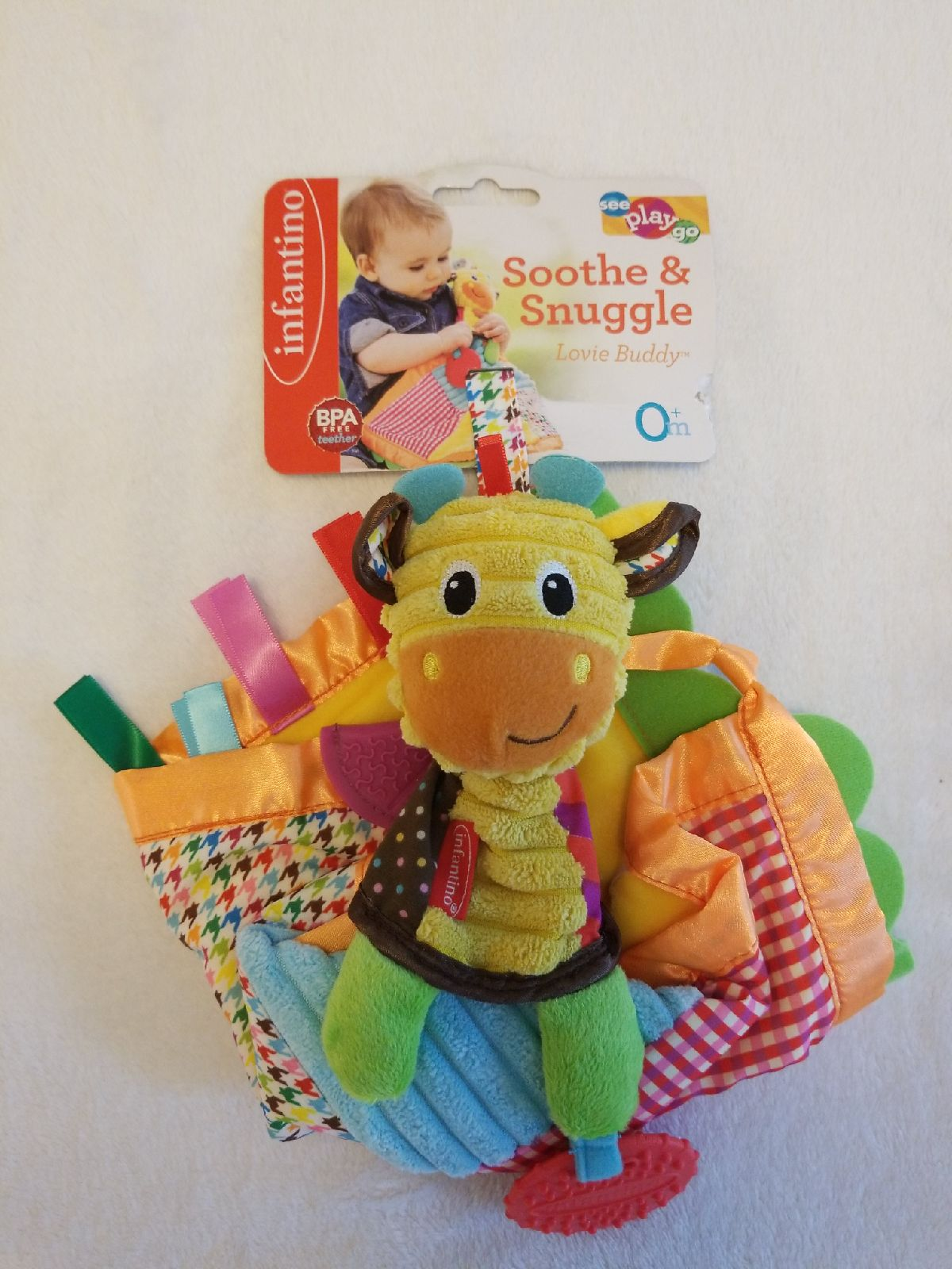 Infant Toy- Infantino soothe and snuggle