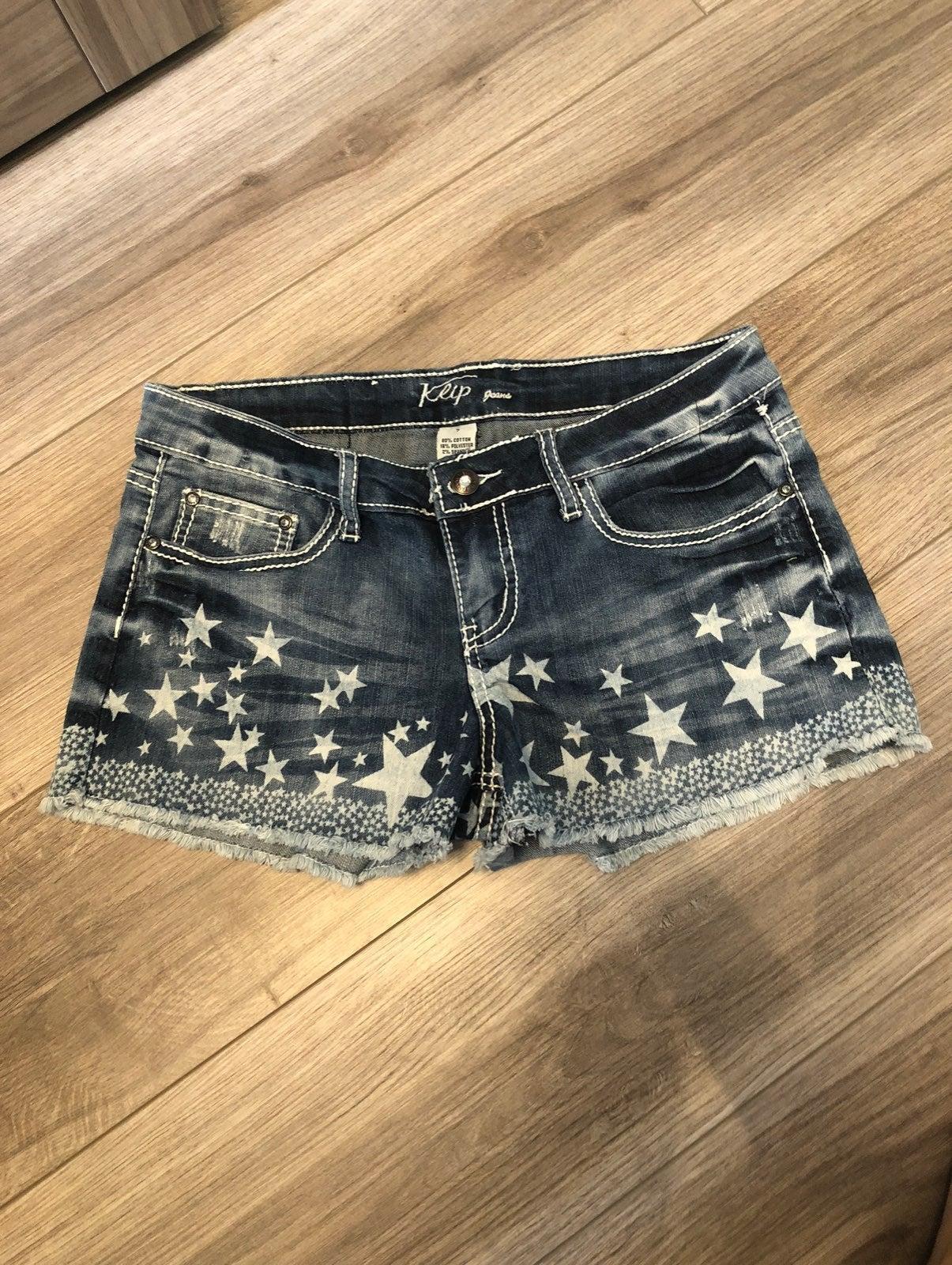 Juniors jean shorts - size 7