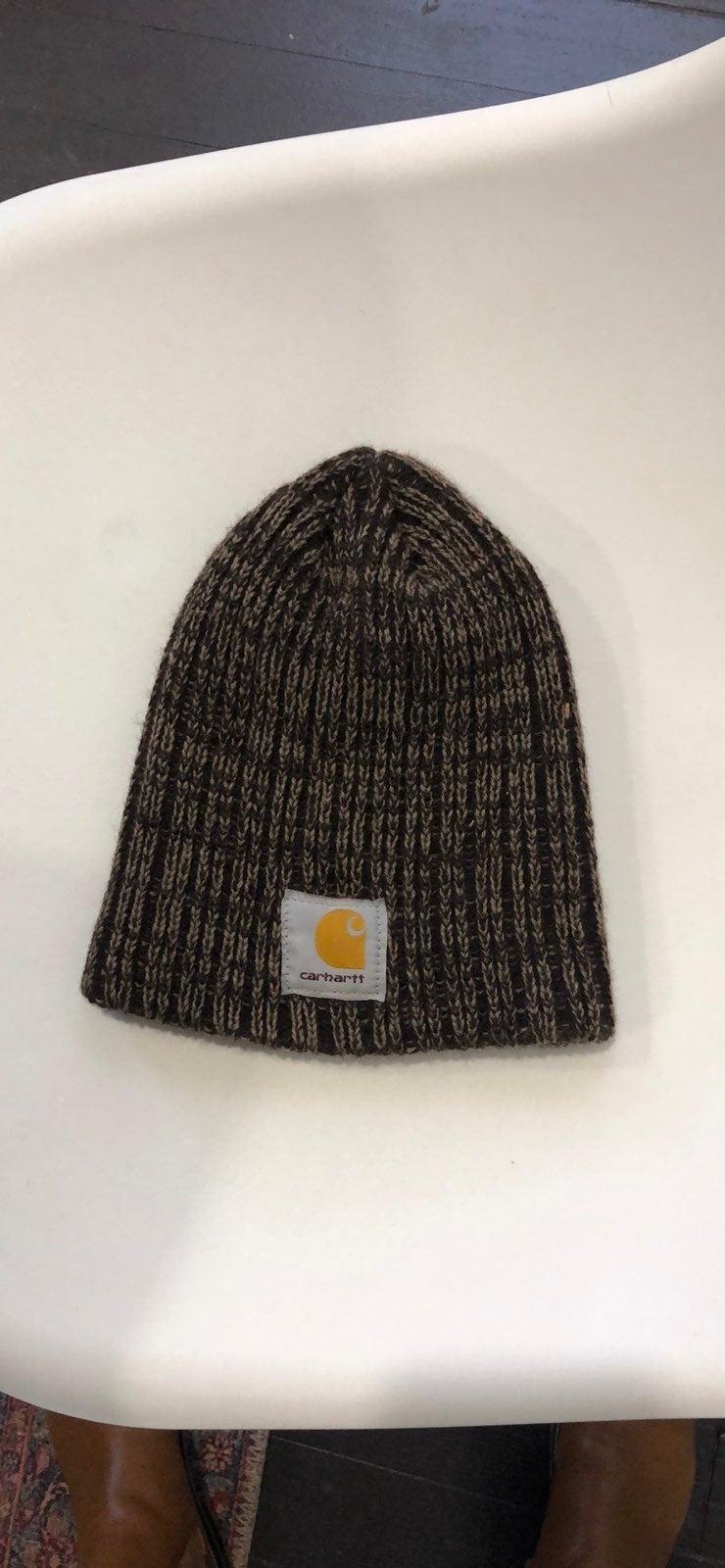 Carhartt Beanie knit hat brown