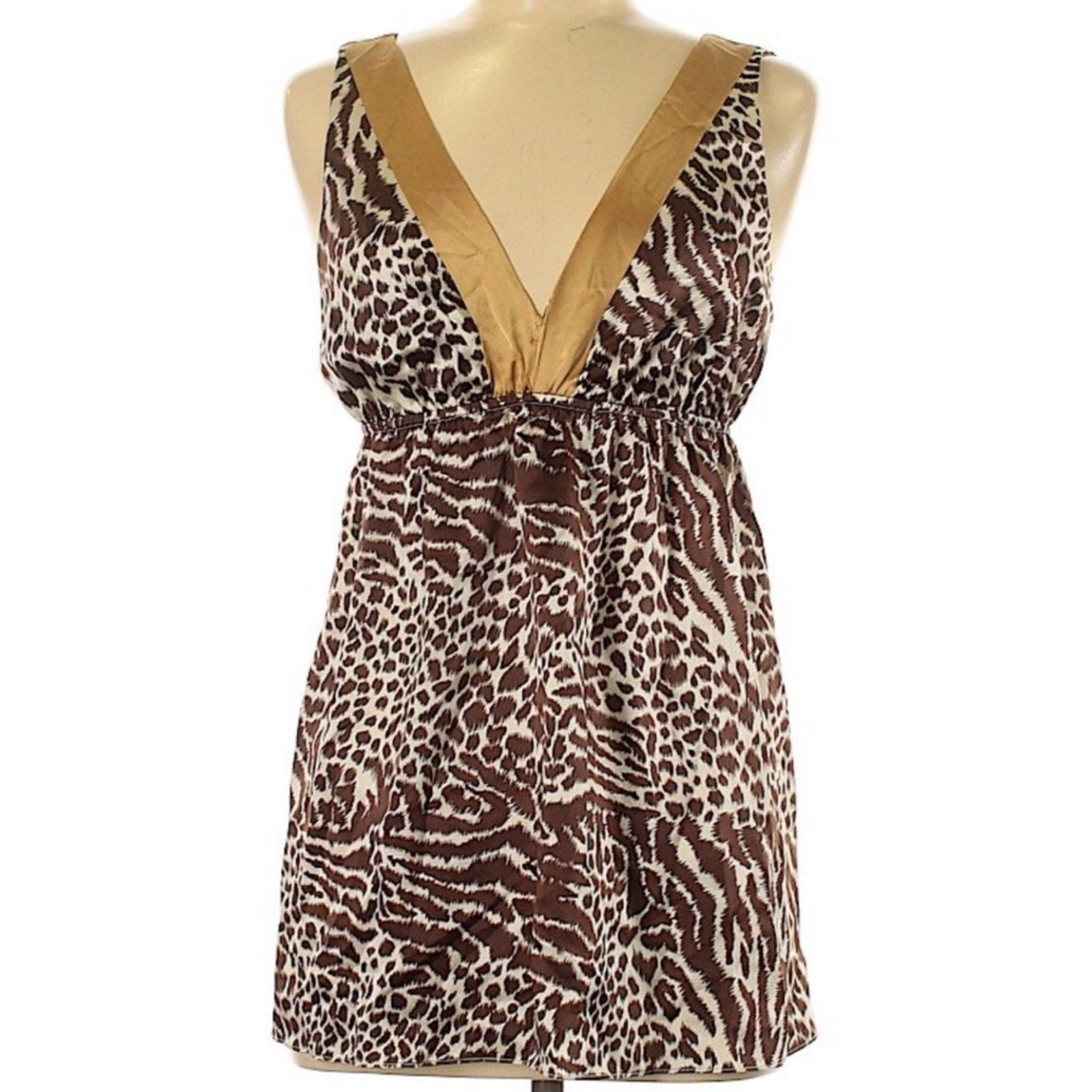 Alice & Trixie Leopard Silk Cami Top