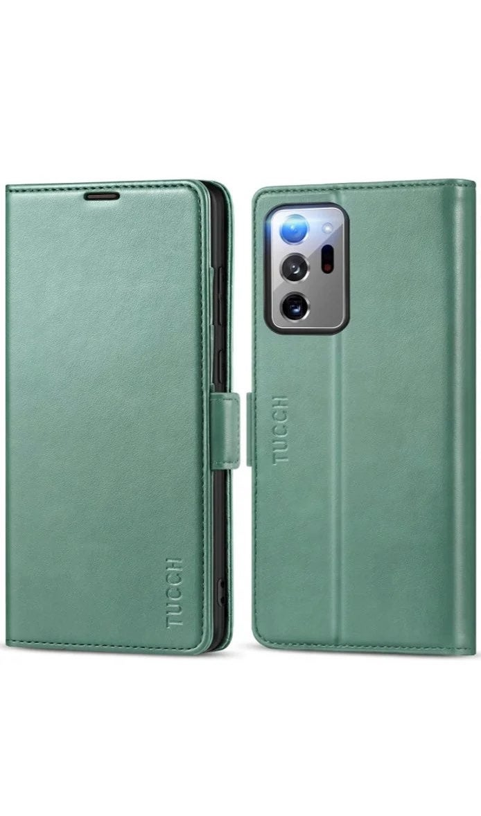 TUCCH Galaxy Note 20 Leather Wallet Case