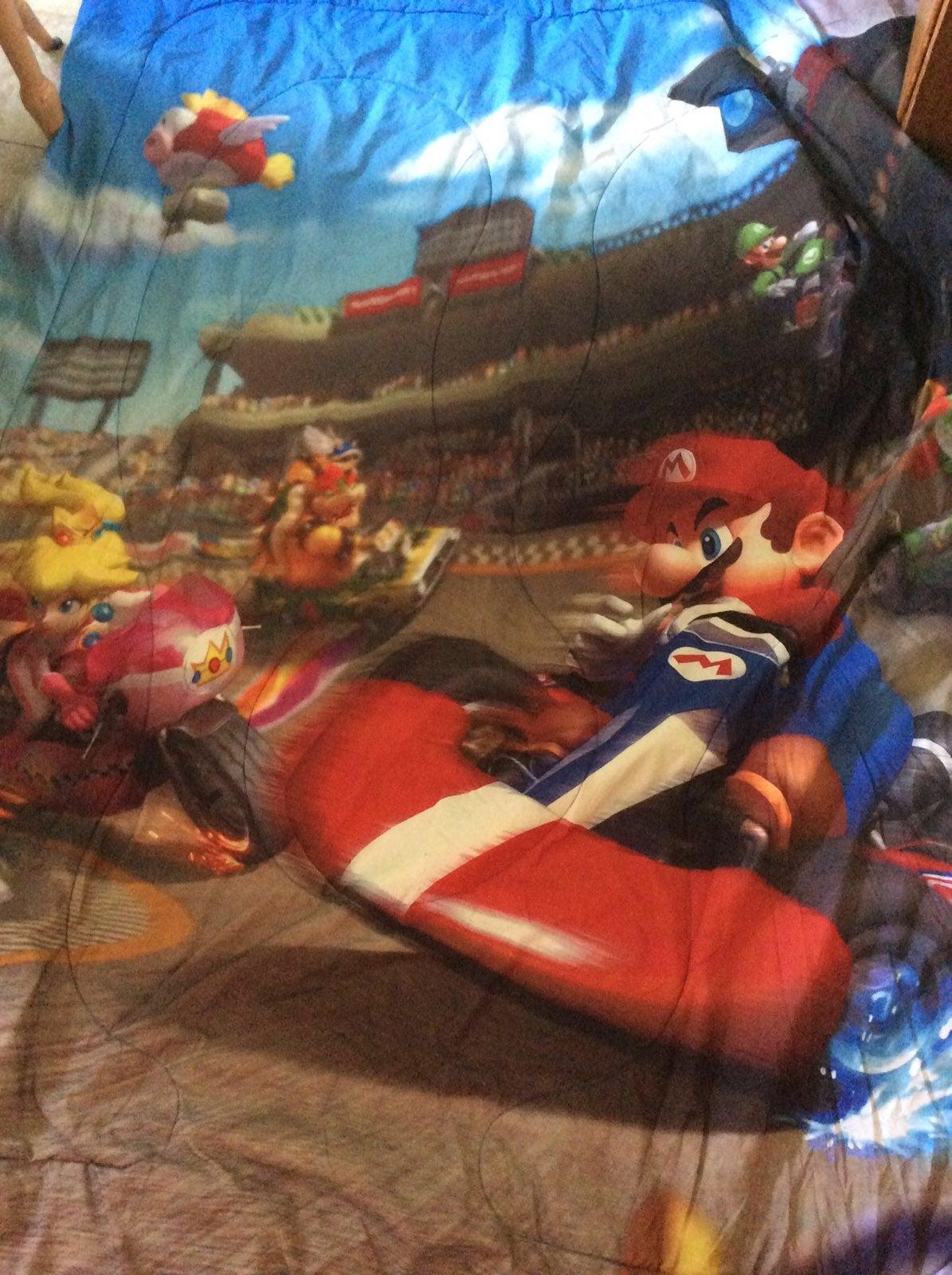 Complete Mario cart twin bedding