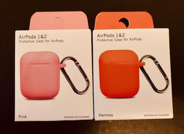 AIRPODS CASE 1 & 2  PACK 2