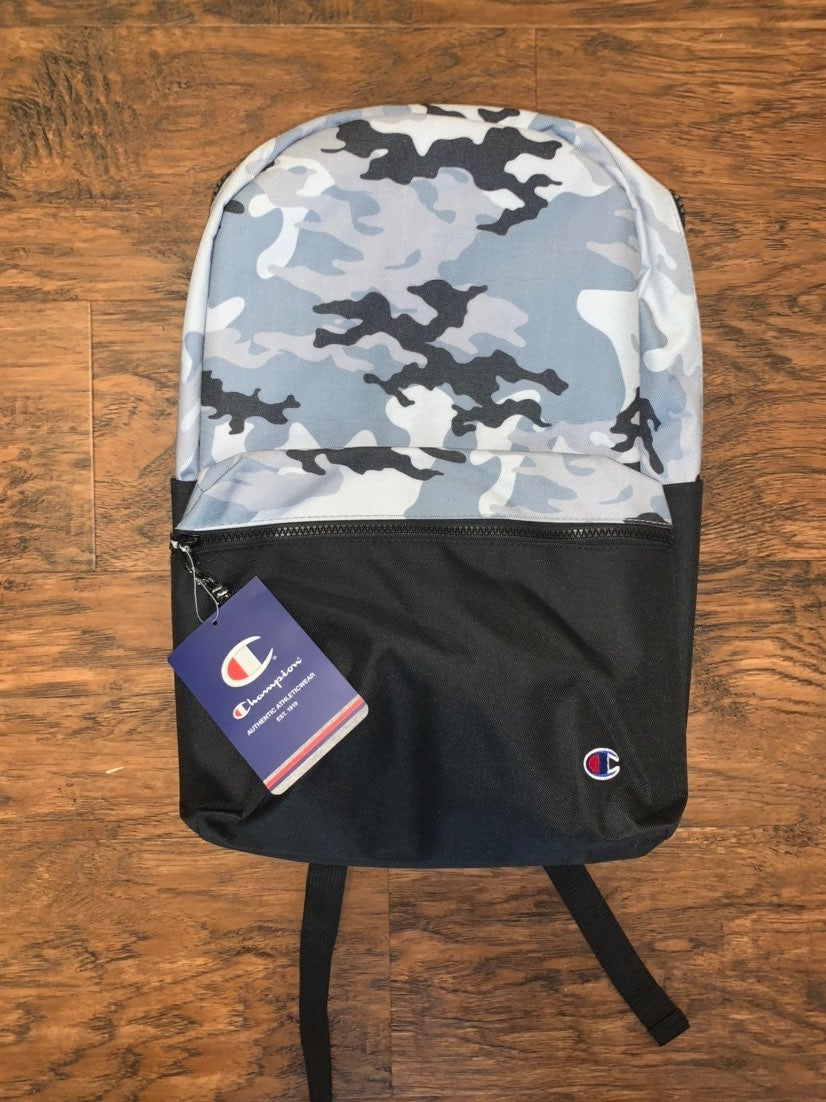 Boys Champion Camo Backpack