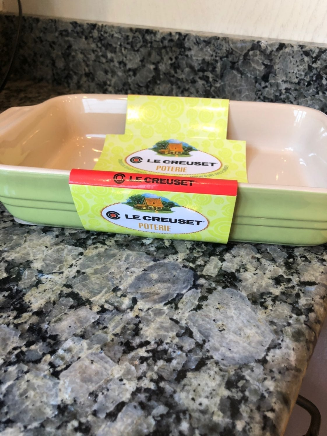 NEW Le Creuset Stoneware Rectangle Dish