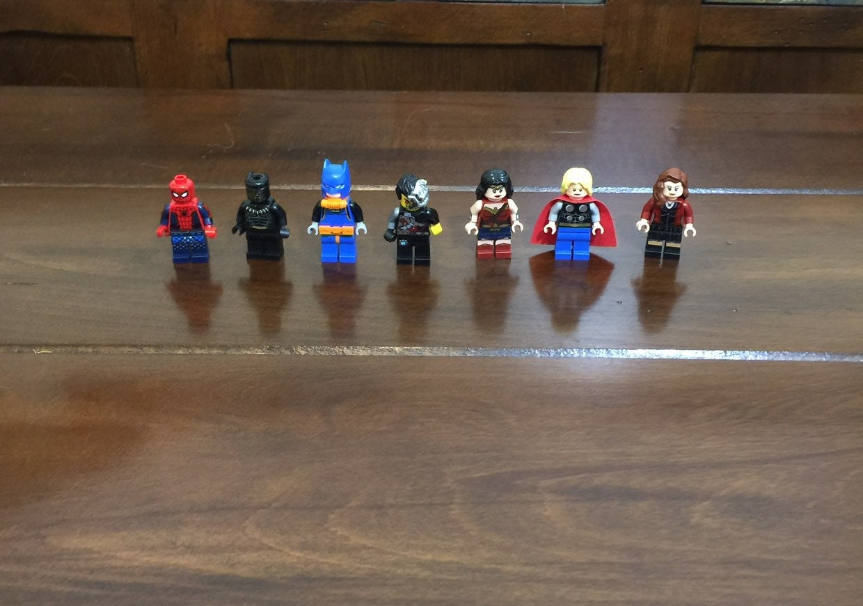 Lego Super Hero Mini Figures