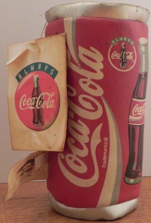 Vintage Coca Cola Plush Coke Can