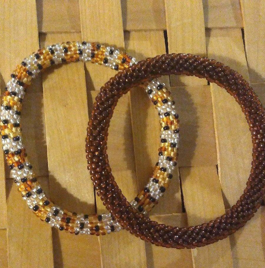 Nepali crochet beaded bracelets