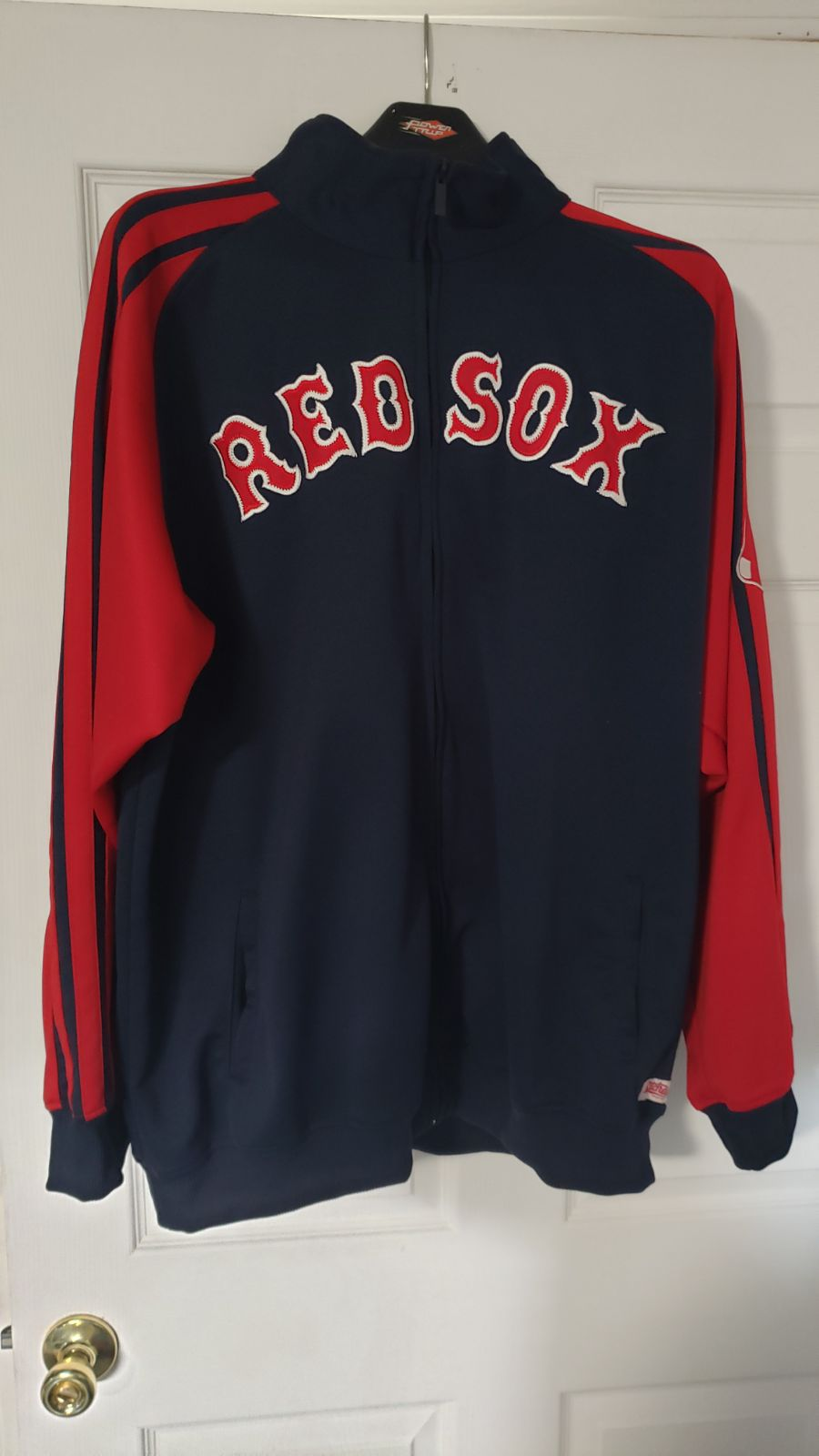 Red Sox jacket stitched lettering sz xl