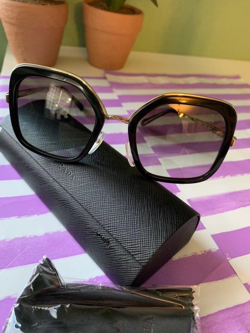 Prada square sunglasses for women