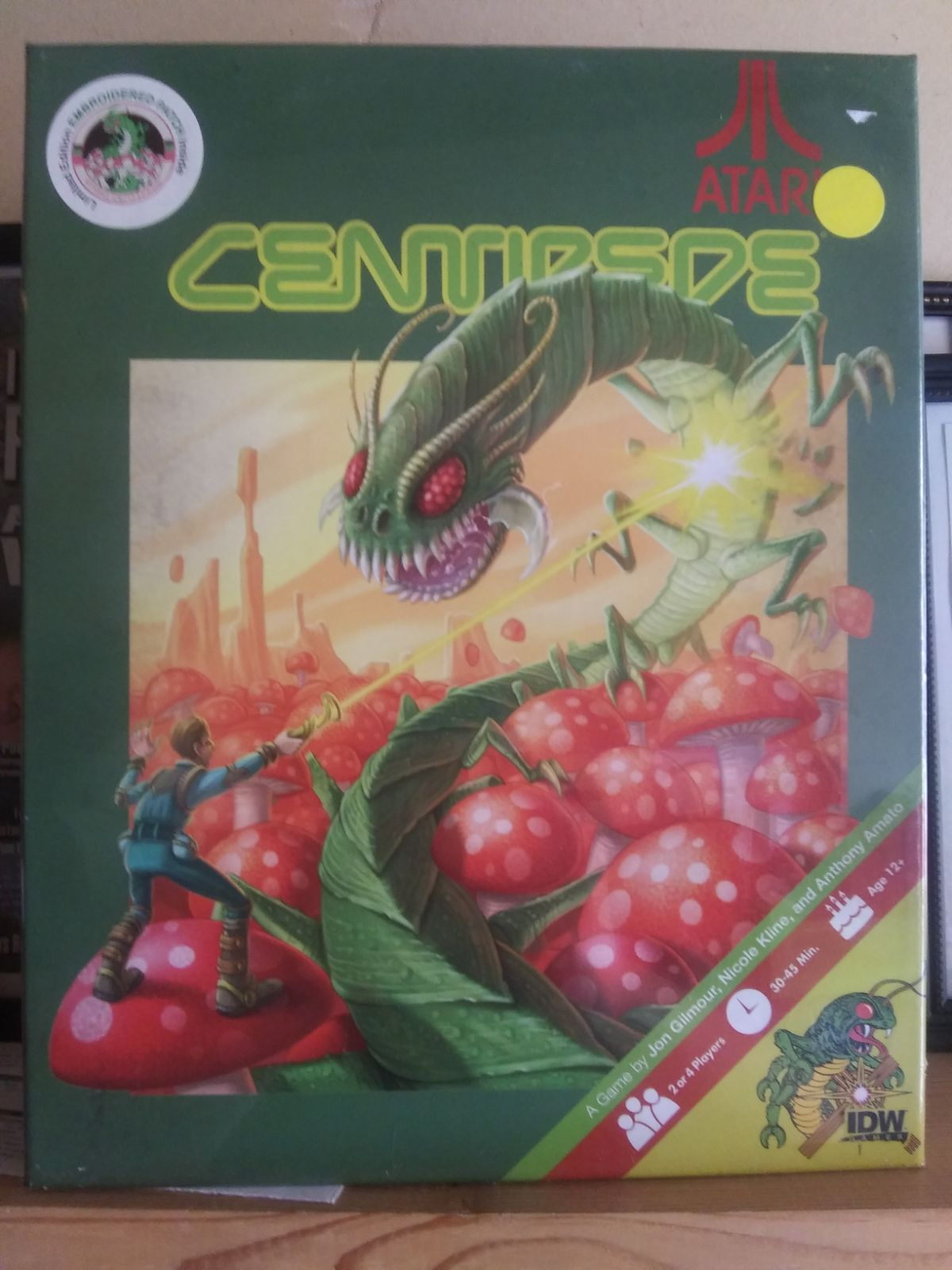 IDW Centipede Board game