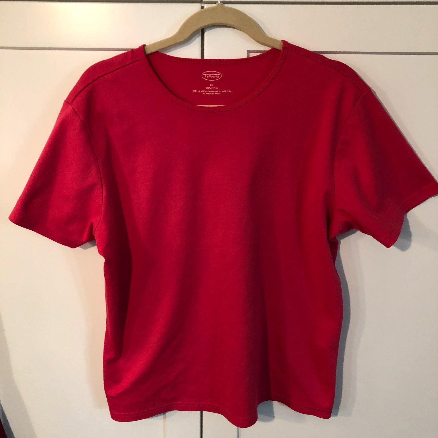 Talbots XL Pink T Shirt
