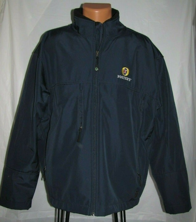 Foster's Beer Antigua Jacket Size Large