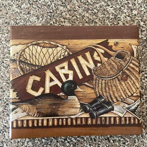 Cabin guest book