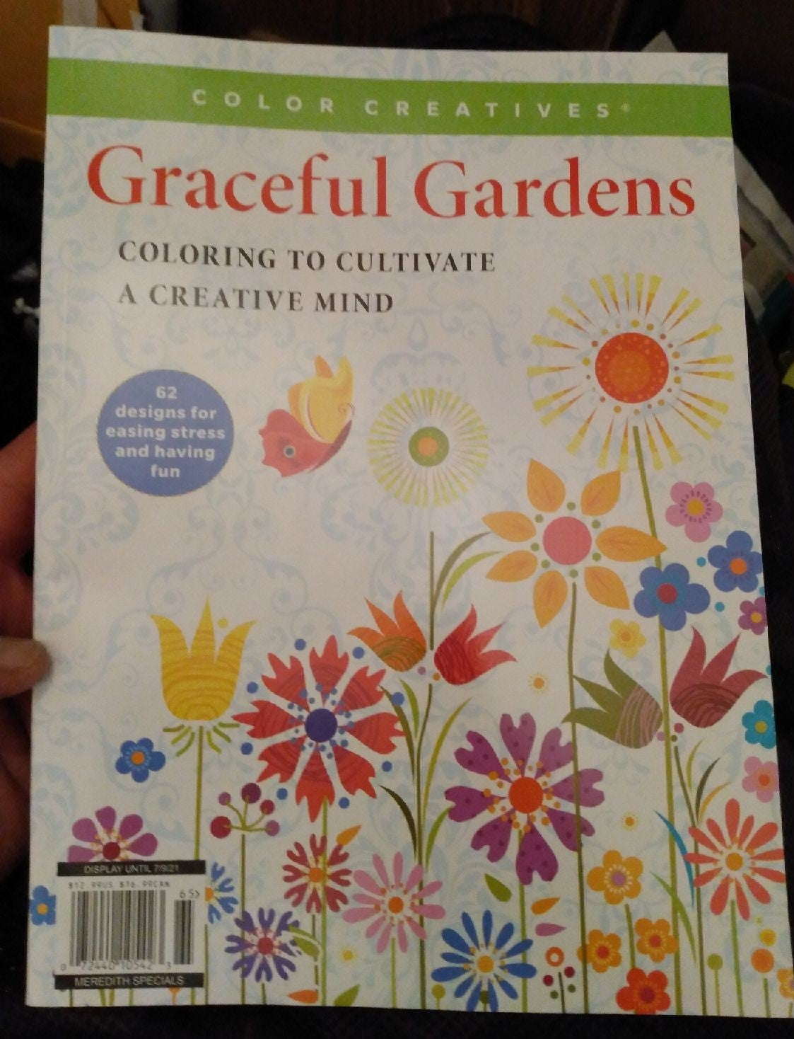Graceful Gardens Adult Coloring Book