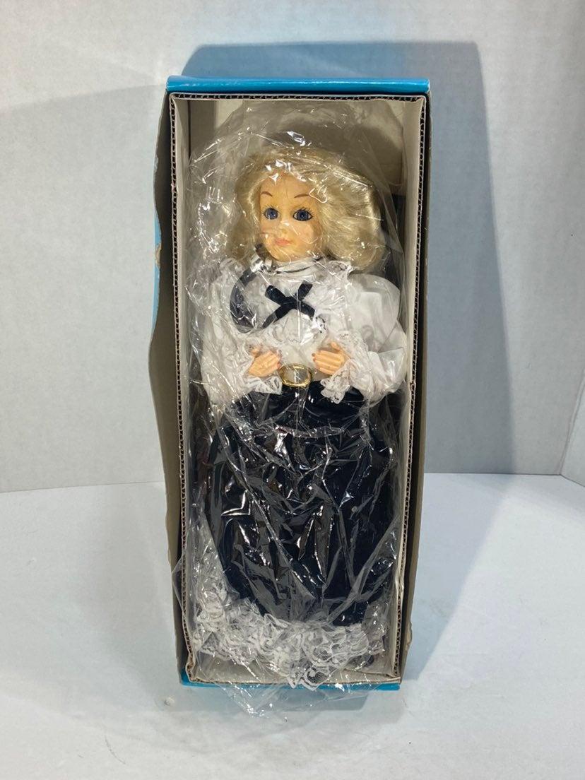 "1890's Operator Doll 12"" New Telephone P"