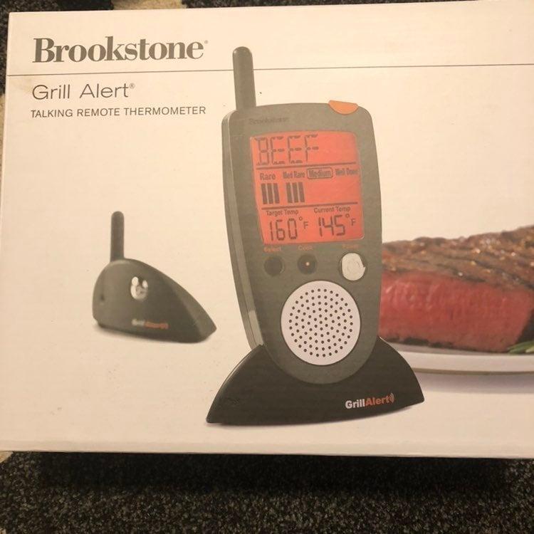Brookstone Grill Alert Talking Alert