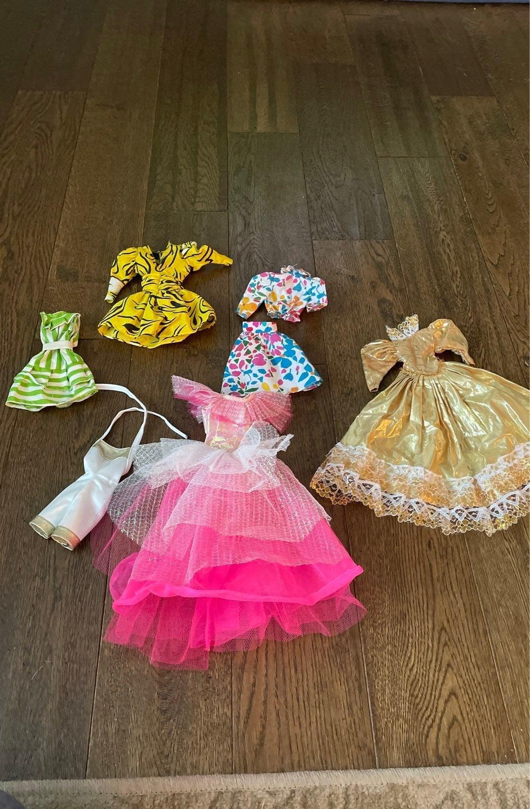 Barbie clothing lot