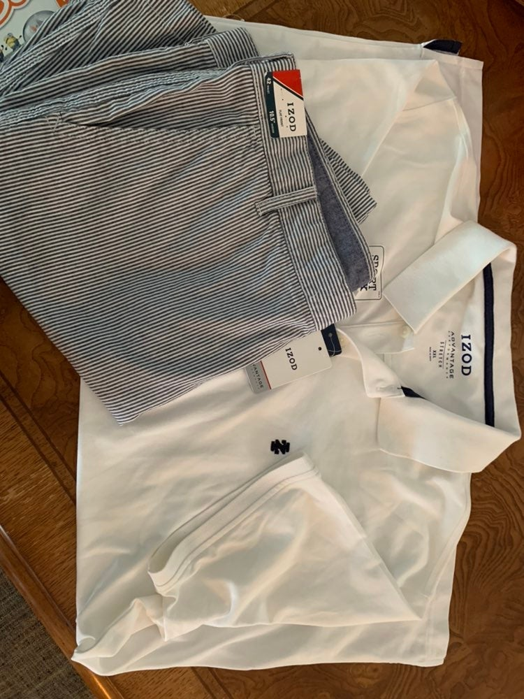 izod big and tall mens outfit