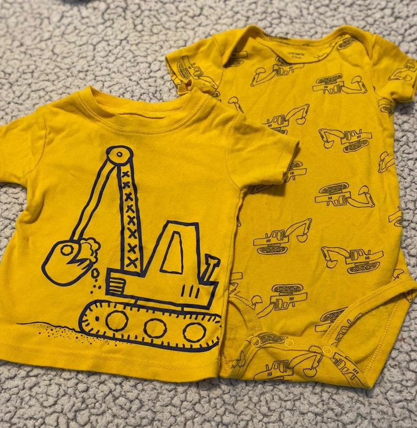 Truck boy clothes lot