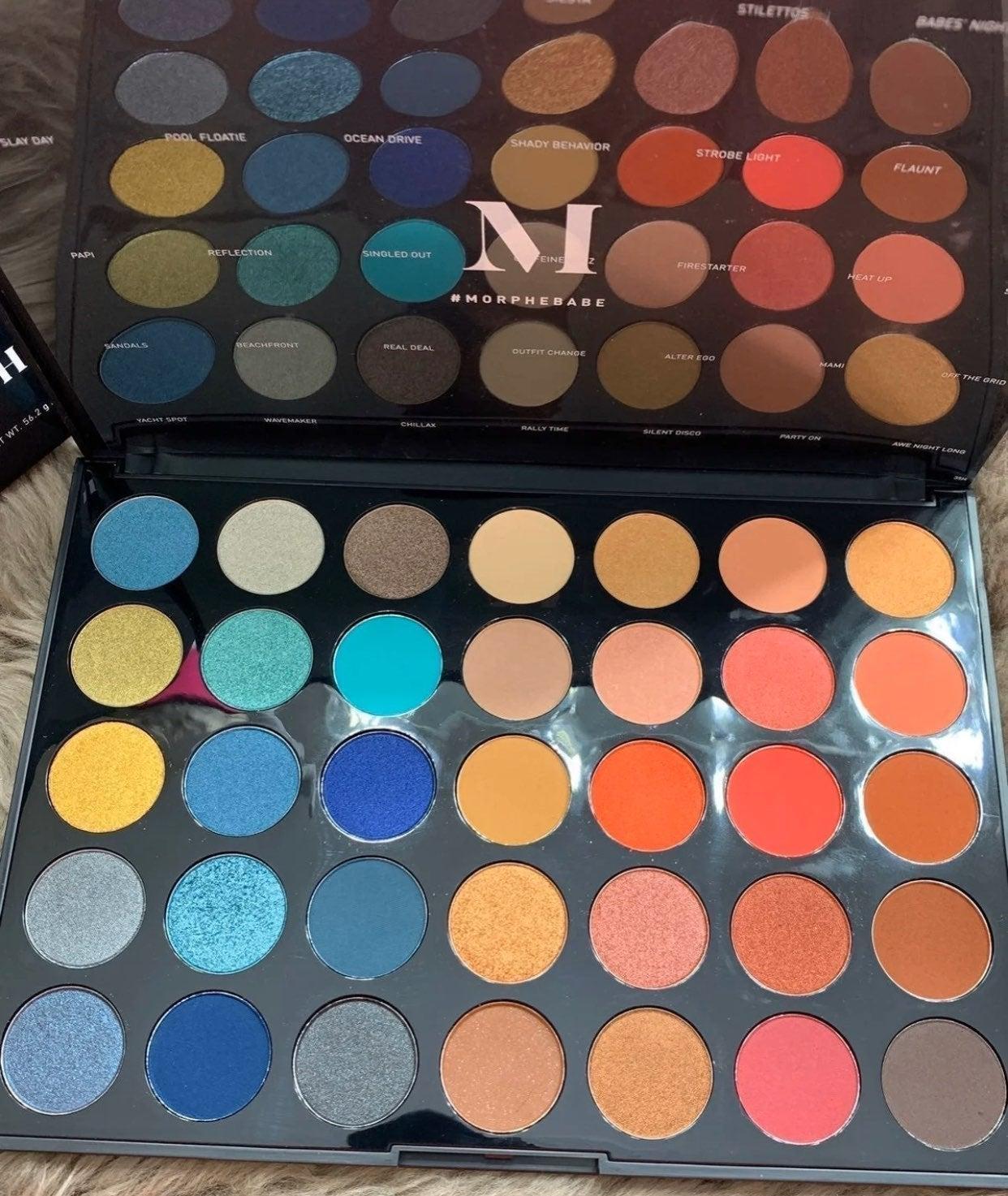 Morphe 35H Hot Spot Palette!