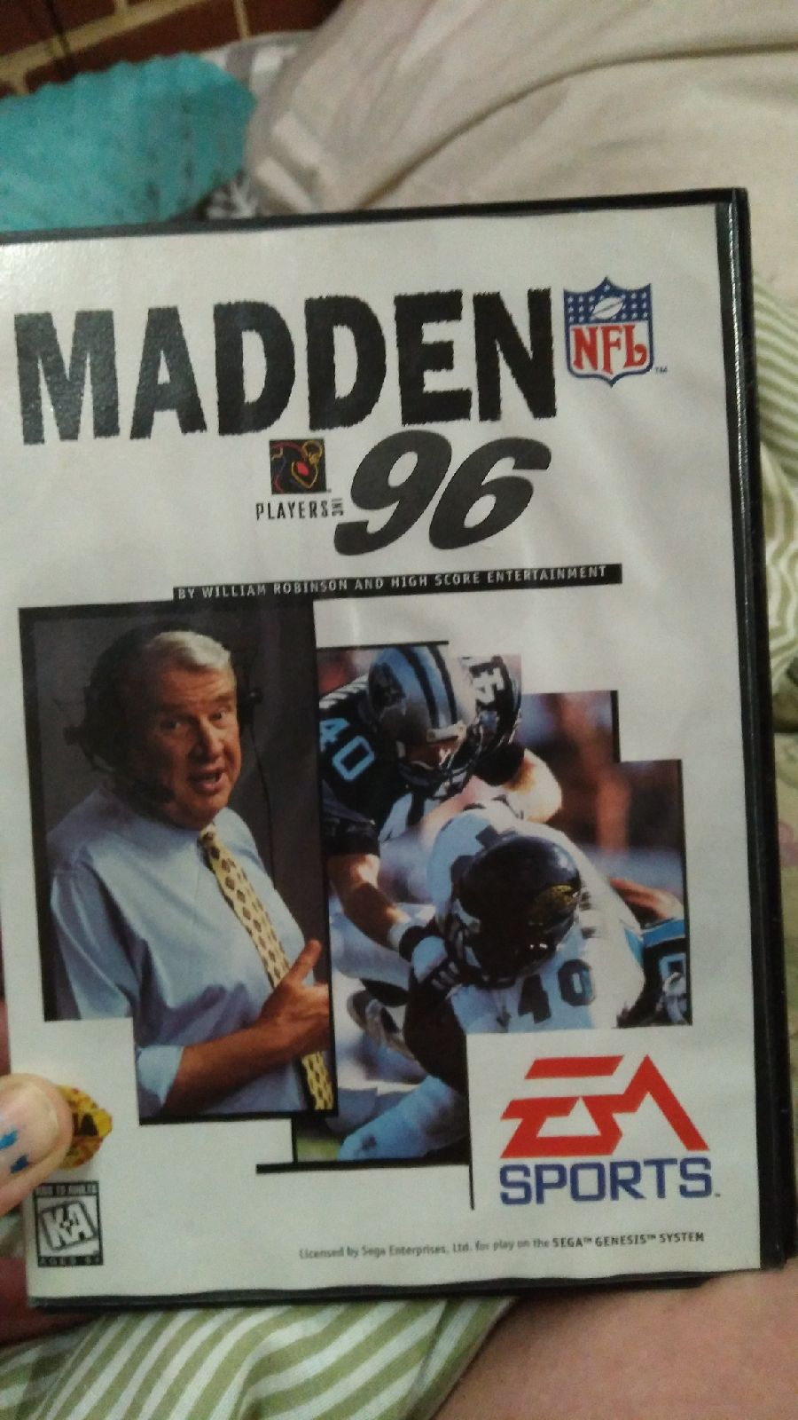 Madden NFl 96 sega geniuses