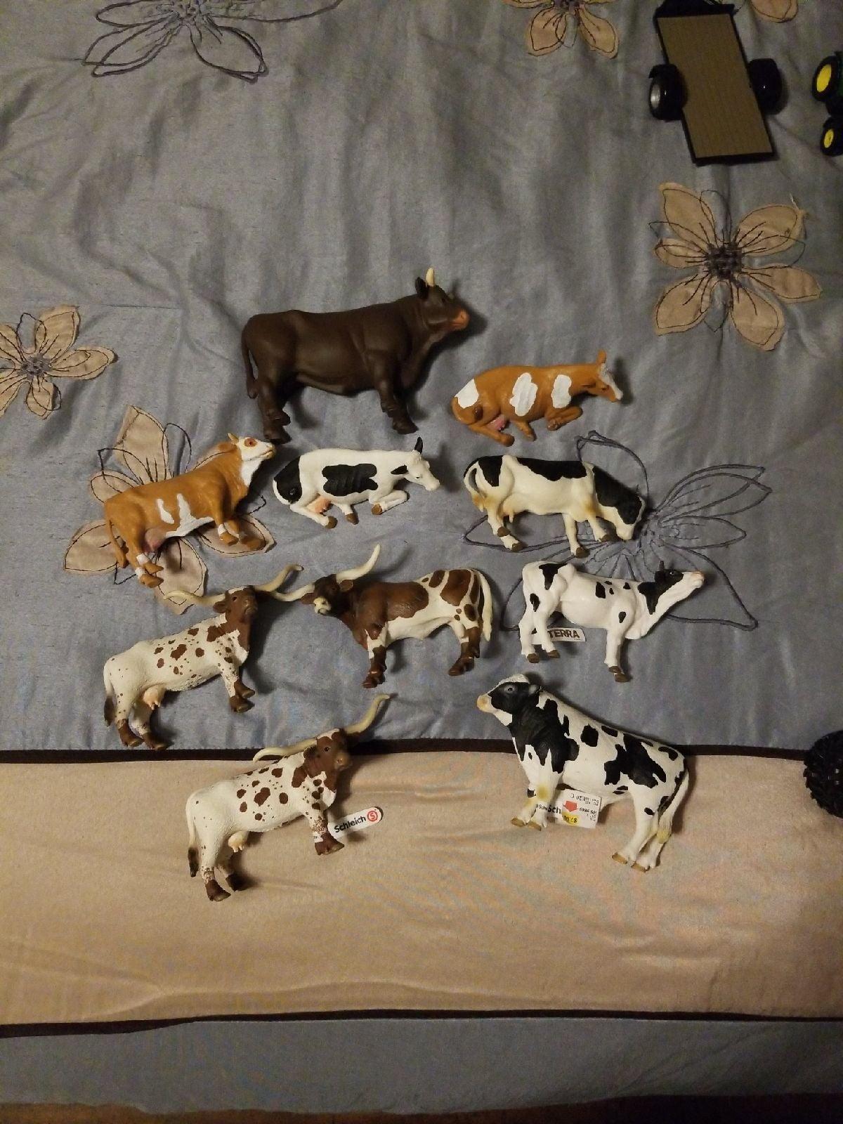 Bruder, Schleich, Terra Cows and Bulls