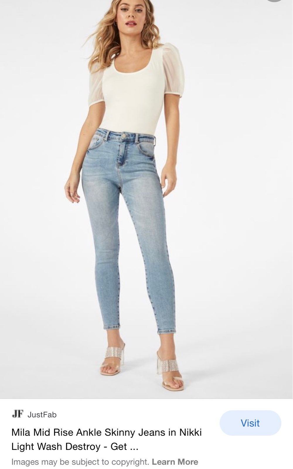 *Super flattering* Like New Ankle Jeans