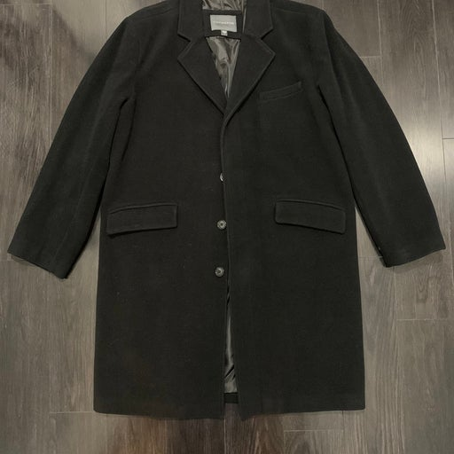 COVINGTON Long Wool Coat Overcoat Mens