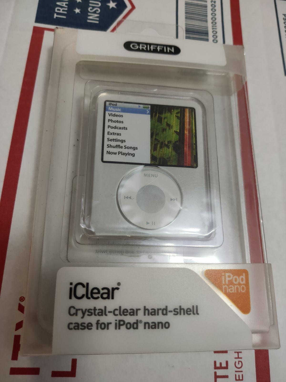 iPod nano crystal clear hard case