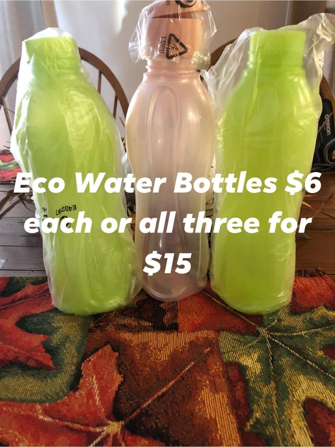 Tupperware Eco Water Bottles