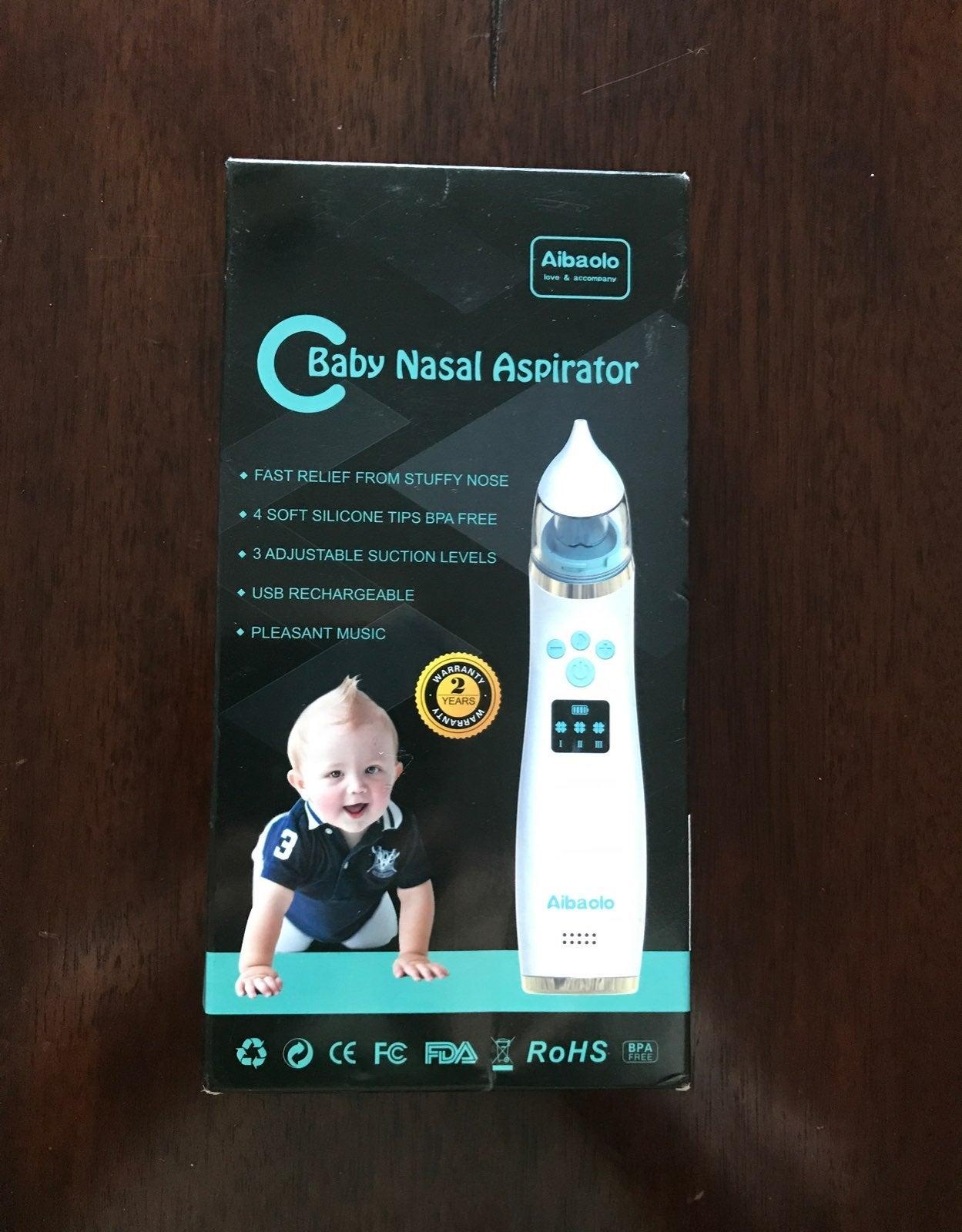 Baby nosal aspirator