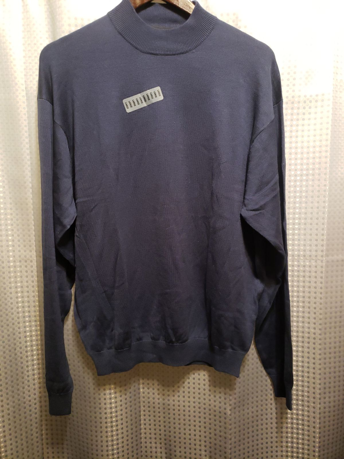 NWT Large Men's Warehouse Navy Sweater
